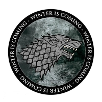 Game Of Thrones - Gadget - Mousepad - Stark - Ufficiale