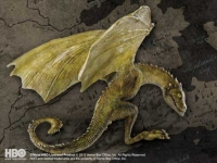 Game Of Thrones - Gadget - Baby Dragon - Rhaegal - Ufficiale