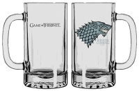 Game Of Thrones - Gadget - Boccale - Stark - Ufficiale