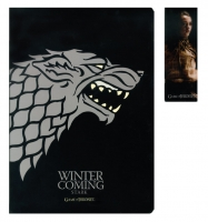 Game Of Thrones - Gadget - Notebook Stark - Segnalibro - Ufficiale