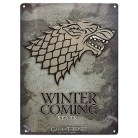 Game Of Thrones - Gadget - Placca Stark - Ufficiale