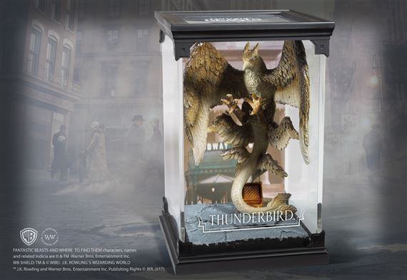 Animali Fantastici - Creature Magiche - Tuono Alato - Thundrbird - Noble Collection -  Prodotto Ufficiale Warner Bros.