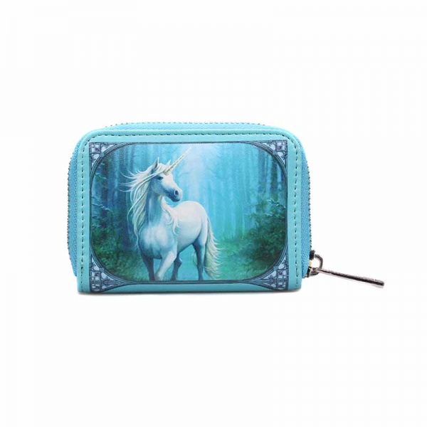 Anne Stokes - Portamonete Forest Unicorn - Similpelle - Nylon