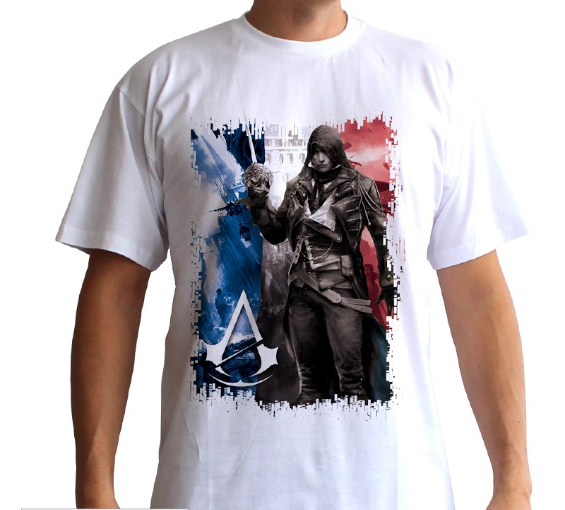 Assassin's Creed - T-Shirt Jacob Unity - Cotone - Prodotto Ufficiale Ubisoft