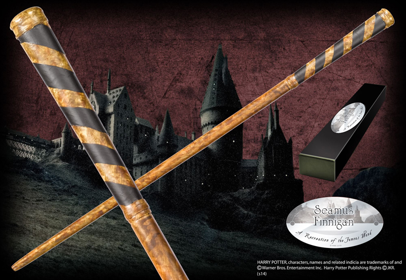 Harry Potter - Bacchetta di Seamus Finnigan - Prodotto ufficiale © Warner Bros. Entertainment Inc.