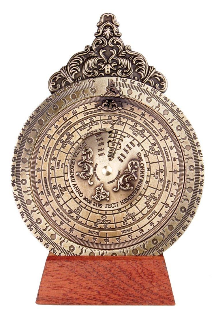 Calendario Lunare 2005.Storia E Magia Antichi Strumenti Scientifici Calendario
