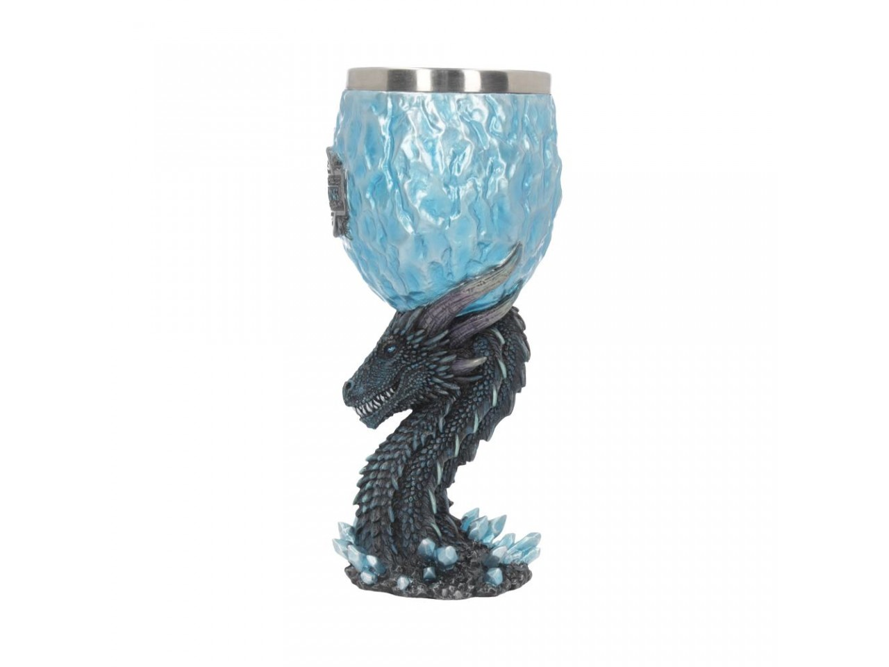 Game of Thrones - Boccale Viserion White Walker - Resina - Prodotto Ufficiale