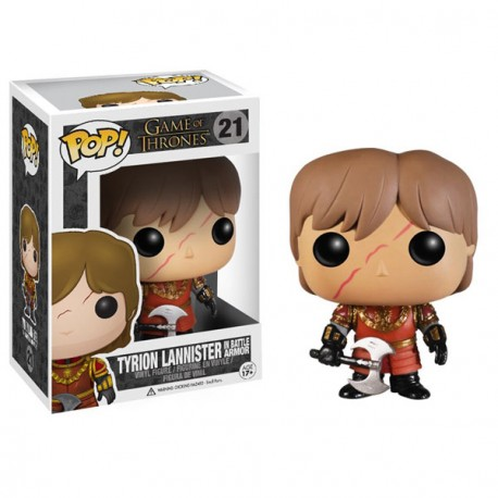 Game of Thrones - Funko POP Vinyl n°21 Tyrion Lannister - Prodotto Ufficiale Funko