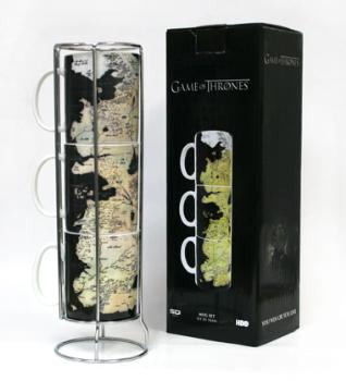 Game Of Thrones - Gadget - Set Tazze - Westeros - Ufficiale