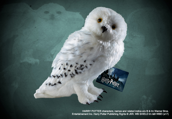 Harry Potter - Peluche Edvige  - Prodotto ufficiale © Warner Bros. Entertainment Inc.