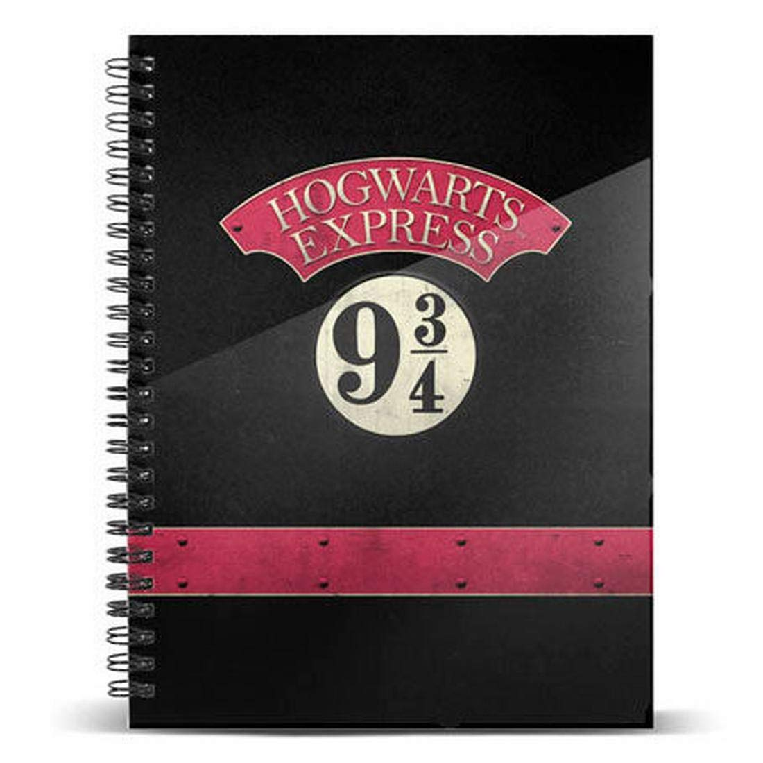 Harry Potter - Quaderno anelli Hogwarts Express - Prodotto Ufficiale Warner Bros