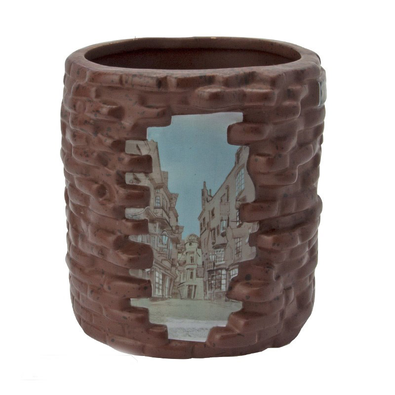 Harry Potter - Tazza Diagon Alley 3D - Ceramica - Prodotto Ufficiale Warner Bros.