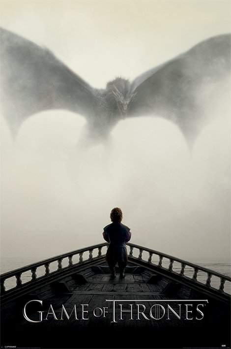Game of Thrones - Poster Tyrion e Drogon
