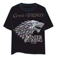 Games Of Thrones - T-Shirt Stark - Ufficiale HBO