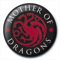 Game of Thrones - Spilla Mother of Dragons - Prodotto ufficiale © HBO