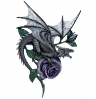 Anne Stokes - Placca Dragon Beauty - Resina - Dipinto a mano