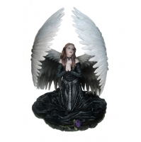 Anne Stokes - Angeli - Prayer for the Fallen - Resina - Dipinto a mano