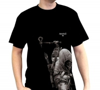 Assassin's Creed - T-Shirt ASC III Connor - Prodotto Ufficiale Ubisoft