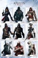 Assassin's Creed - Poster Assassini - Prodotto Ufficiale Ubisoft