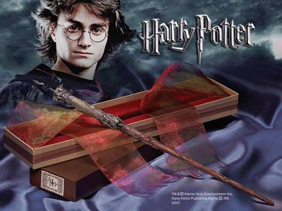 Harry Potter - Bacchetta di Harry Potter - Confezione Olivander - Prodotto ufficiale © Warner Bros. Entertainment Inc.