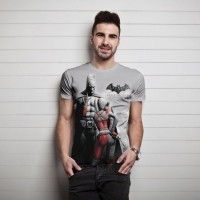 Batman - T-Shirt Batman & Harley Quinn