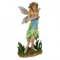 Christine Haworth - Forest Faerie [Limited Edition] - Resina - dipinto a mano