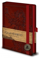 Game Of Thrones - Gadget - Quaderno Lannister - Prodotto Ufficiale HBO