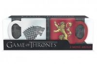 Game Of Thrones - Tazze Mini Stark e Lannister