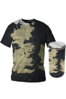 Game of Thrones - T-Shirt Deluxe Edition Mappa Westeros