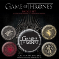 Storia e Magia - Game Of Thrones - Set Spillette - Quattro Casate - Il Trono Di Spade - Ufficiale