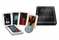 Game of Thrones - Carte Da Gioco Premium  Set 52 + Moneta - Prodotto ufficiale © HBO