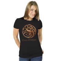 Games Of Thrones - T-Shirt da Donna Targaryen