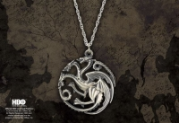 Game of Thrones - Ciondolo Targaryen in Argento