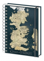 Game of Thrones - Quaderno Mappa