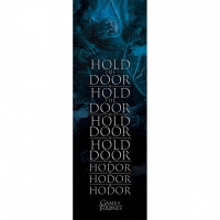 Storia e Magia - Game Of Thrones - Poster da Porta - Hold The Door - Il Trono Di Spade - Ufficiale