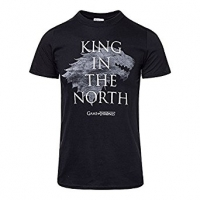 Game of Thrones - T-Shirt - King in the North Distressed