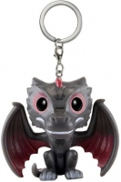 Game Of Thrones - Funko POP Portachiavi Drogon - Prodotto Ufficiale HBO e Funko