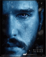 Game of Thrones - Poster 3D Jon vs Nignt king - Prodotto Ufficiale HBO