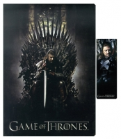 Game of Thrones - Quaderno e Segnalibro Eddard Stark