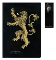Game of Thrones - Quaderno con Segnalibro Lannister