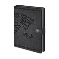 Game of Thrones - Quaderno Stark A5 - Prodotto ufficiale HBO