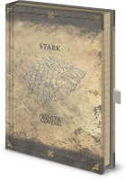 Game of Thrones - Quaderno Stark Premium - Prodotto ufficiale HBO