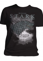 Game Of Thrones - T-Shirt - House Stark - Ufficiale
