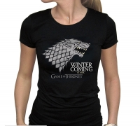 Game of Thrones - T-Shirt Stark - Donna - Prodotto Ufficiale HBO