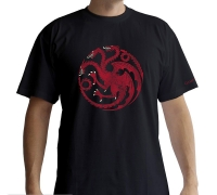 Game of Thrones - T-Shirt Targaryen - Prodotto Ufficiale HBO