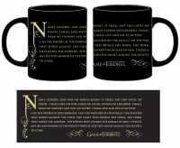 Game of Thrones - Tazza Guardiani Della Notte - Ceramica - 320 mml