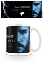 Game of Thrones - Tazza Jon Winter is Here - Ceramica - Prodotto Ufficiale HBO