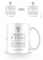 Game of Thrones - Tazza Trial by Combat - Ceramica - Prodotto Ufficiale HBO
