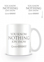 Game Of Thrones - Tazza You Know Nothing Jon Snow - Ceramica - Prodotto Ufficiale HBO