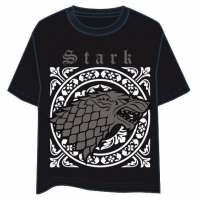 Game of Thrones - T-Shirt - House Stark -  Cotone - Prodotto Ufficiale HBO
